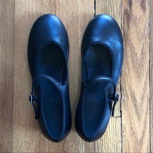 Capezio Black Mary Jane Tap Shoes.
